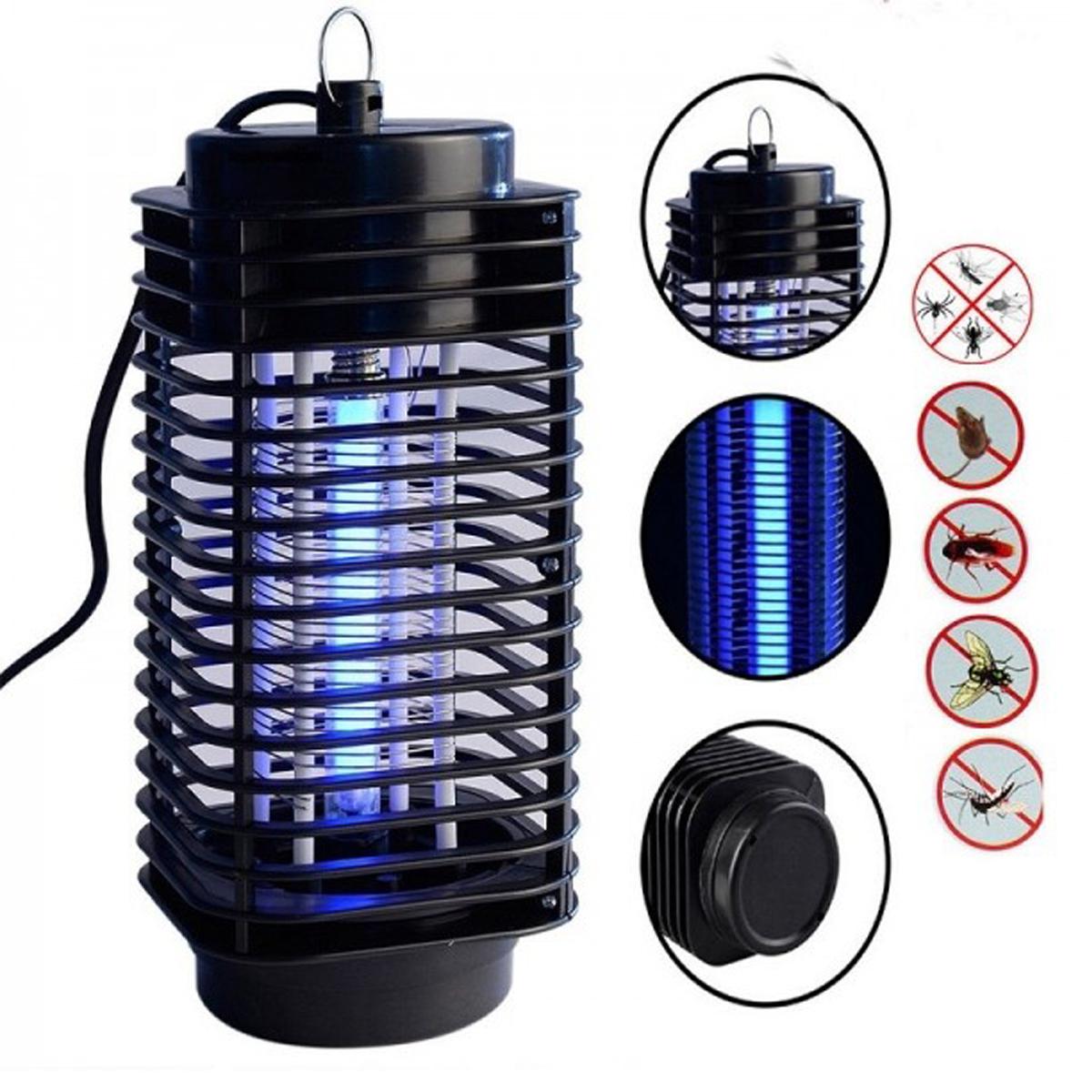 Zanzariera elettrica lampada uv 3 watt lanterna for Lampada zanzare