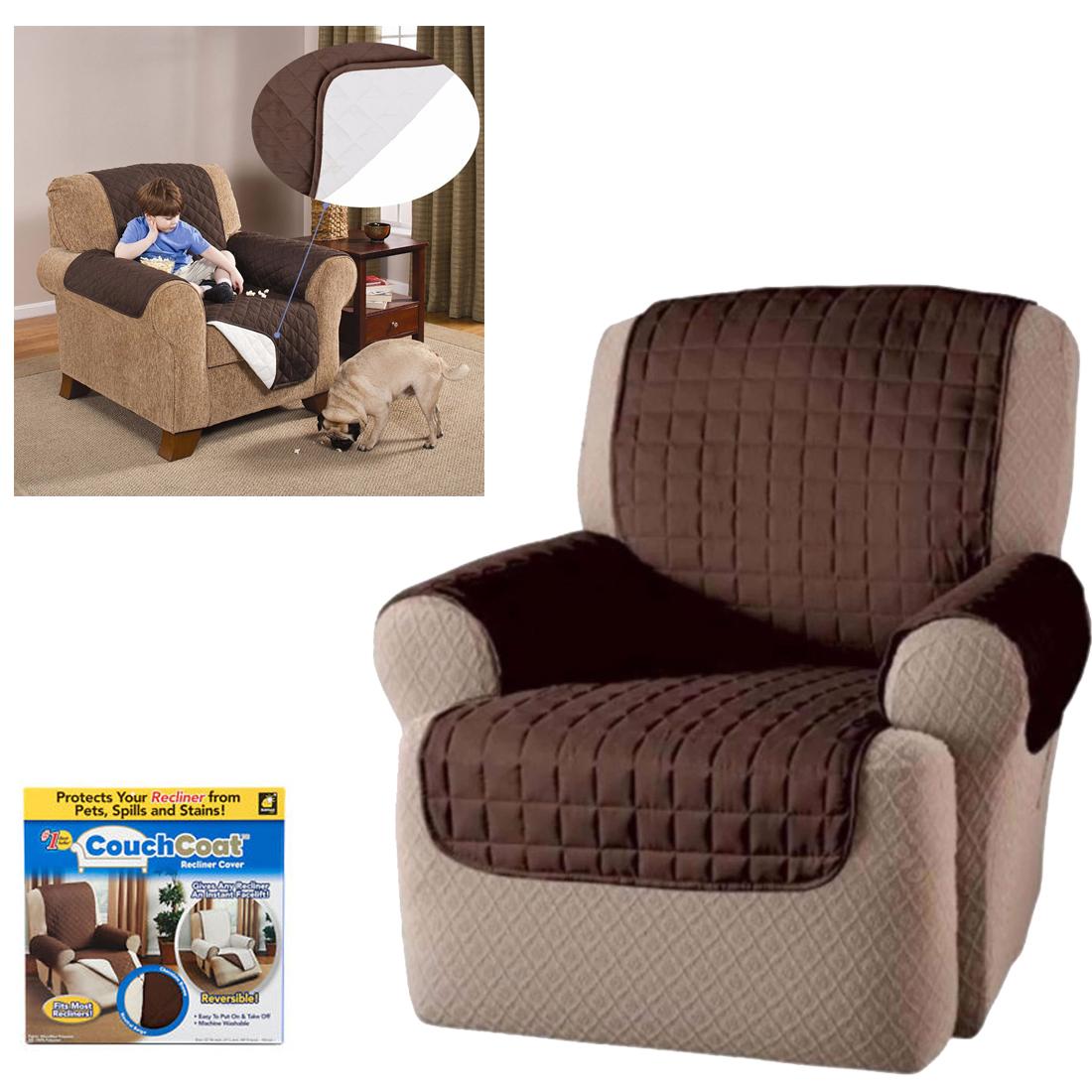 Couch coat poltrona copertura proteggi divano per cane gatto copripoltrona ebay - Gatto divano microfibra ...