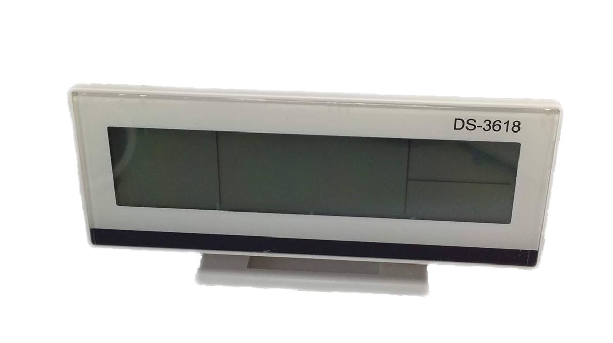 Orologio sveglia datario termometro digitale da tavolo digitale display lcd 3618 ebay - Orologio da tavolo digitale ...