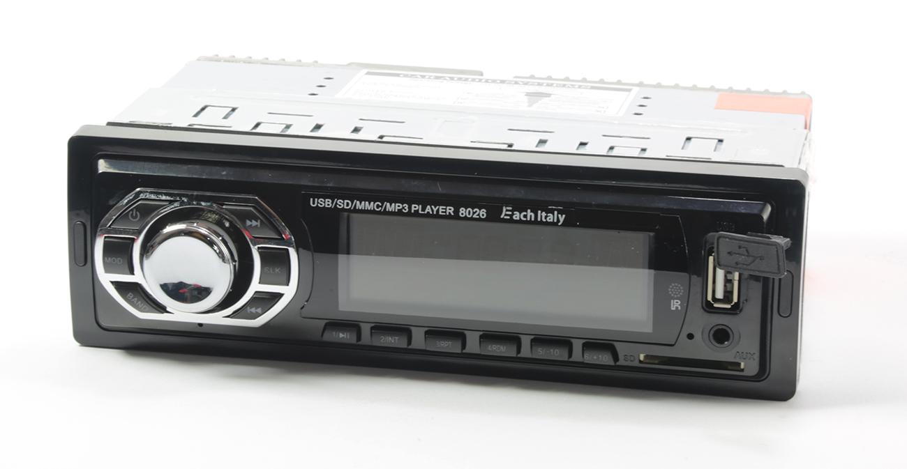 Stereo autoradio auto camper radio fm mp3 porta usb slot - Autoradio lancia ypsilon porta usb ...