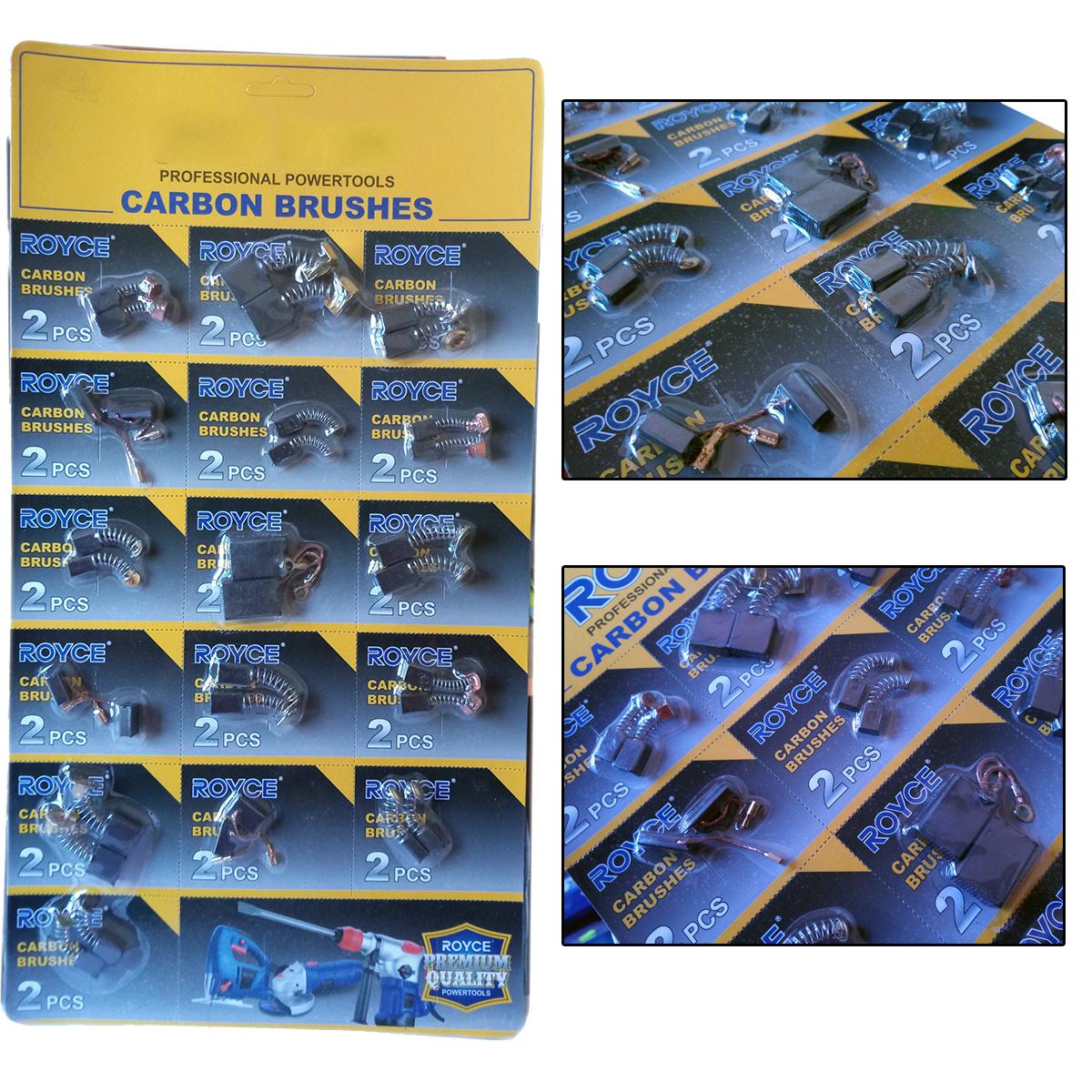 Carboncini 17X8X5mm Per BOSCH Trapano generico motore elettrico