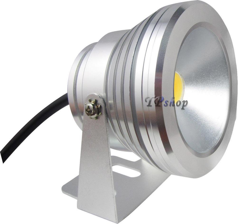 Faro faretto lampada a led rgb 10w watt calda fredda ip65 for Faretto led 12v