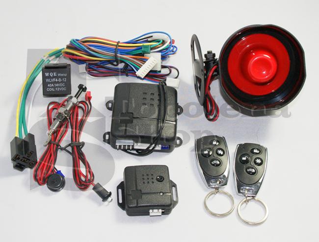 Kit allarme antifurto auto universale furgone camper for Kit trasformazione furgone in camper