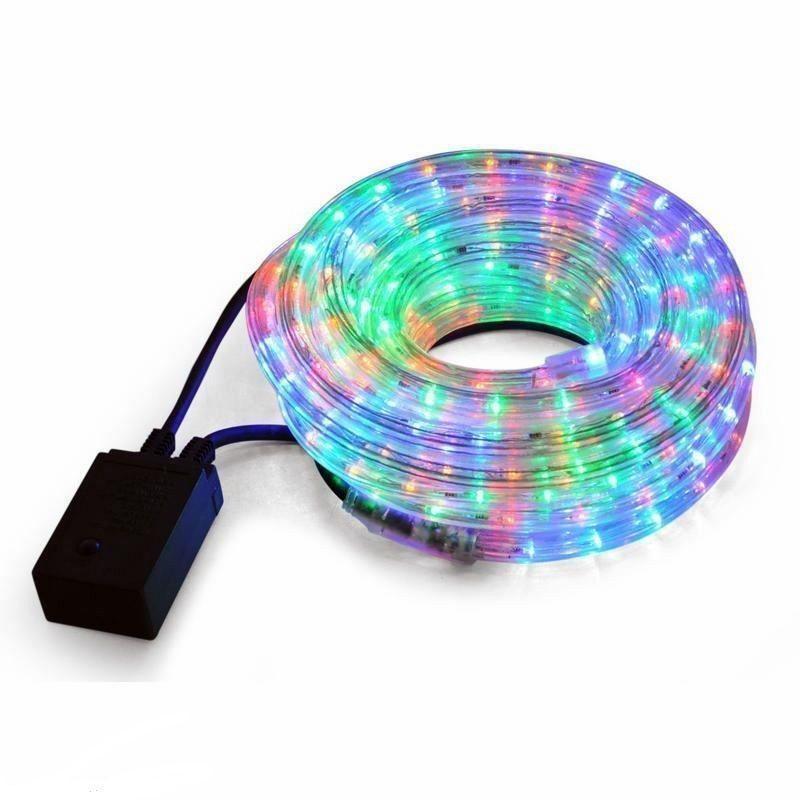 Tubo luminoso led luci di natale impermeabile esterno for Tubo luminoso led per esterno